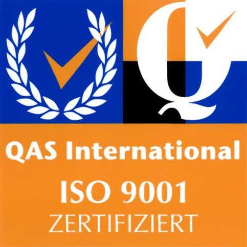 Zertifiziert nach din 9001